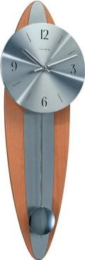 天然木とメタルのお洒落なコンビネーション! ヘルムレ(HERMLE)製振り子時計 Oaklandビーチウッド 70906-382200
