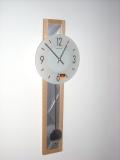 天然木とアルミのお洒落なコンビネーション! ヘルムレ(HERMLE)製振り子時計 70907-382200