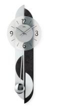 スレートアプリケーションとガラスのコンビがお洒落です! AMS(アームス)振り子時計 7299