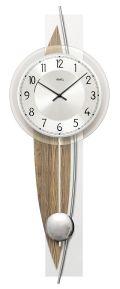斬新デザインが目を引きます! AMS(アームス)振り子時計 7452