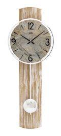 AMSアームス振り子時計 7465 ドイツ製  AMS掛け時計 アームス掛け時計 天然木 ストーン文字盤