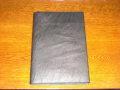 レザーノートカバー&ノート A4 ブラック