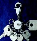 沢山の鍵が着けられるキーホルダーパテントマット
