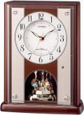 優雅で豪華なクリスタル飾りが魅力!置き時計 パルロワイエR411 8RY411-006 シチズン時計