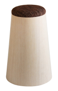 MOLDED PLYWOOD STOOL ホワイトオーク木目wood 905SH φ20(φ28.5)×43 椅子 スツール