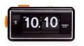 カラーコンビネーションが美しいTWEMCO置時計 AL-30BLACK-BLACK