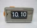 カラーコンビネーションが斬新なTWEMCO置時計 AL-30 GRAY-BLACK