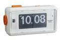 カラーコンビネーションが美しいTWEMCO置時計 アラームクロック AL-30WHITE-BLACK