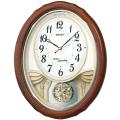 アミューズ時計 ウエーブシンフォニー AM257B セイコー掛け時計 SEIKO電波時計