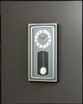 ガラスのクリア感が魅力です!報時振り子時計デコール  セイコー SEIKO電波振り子時計 AS895H