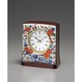 古伊万里風菊牡丹絵が魅力的!セイコー磁器置時計 SEIKO DECOR AZ736A