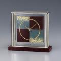 金沢箔の伝統技法と時計職人の技が生む和モダンの美!セイコー置時計 SEIKO DECOR AZ747R