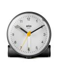 【日本正規代理店品】 BRAUNアラームクロック  BC01BW  BRAUN目覚まし時計  ブラウンアラームクロック