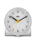 【日本正規代理店品】 BRAUNアラームクロック  BC01W  BRAUN目覚まし時計  ブラウンアラームクロック