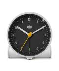 【日本正規代理店品】 BRAUNアラームクロック  BC01WB  BRAUN目覚まし時計  ブラウンアラームクロック