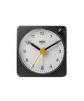【日本正規代理店品】 BRAUNアラームクロック  BRAUN Analog Alarm Clock BC02XBW  BRAUN目覚まし時計 ブラウンアラームクロック