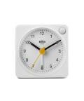 【日本正規代理店品】 BRAUNアラームクロック  BRAUN Analog Alarm Clock BC02XW  BRAUN目覚まし時計 ブラウンアラームクロック