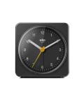 【日本正規代理店品】 BRAUNアラームクロック  BC03B  BRAUN目覚まし時計  ブラウンアラームクロック