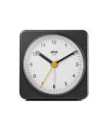 【日本正規代理店品】 BRAUNアラームクロック  BC03BW  BRAUN目覚まし時計  ブラウンアラームクロック