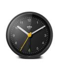 【日本正規代理店品】 BRAUNアラームクロック  BRAUN Classic Analog Alarm Clock BC12B  BRAUN目覚まし時計  ブラウンアラームクロック