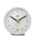 【日本正規代理店品】 BRAUNアラームクロック  BRAUN Classic Analog Alarm Clock BC12W  BRAUN目覚まし時計  ブラウンアラームクロック