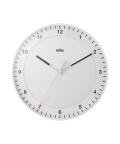 【日本正規代理店品】 ブラウン BRAUN 掛け時計  BC17W 壁掛時計