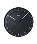 【日本正規代理店品】 ブラウン BRAUN 掛け時計  BNC017BKBK 壁掛時計