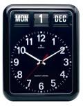 TWEMCOカレンダー時計 BQ-12Aブラック 掛け時計