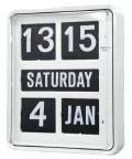 TWEMCO大型カレンダー時計  BQ-1700ホワイト 掛け時計