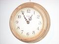 天然木とアンティーク調文字盤がお洒落!CAPITO掛け時計 Antique Wooden NA