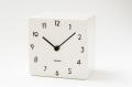 陶器の風合いがうれしい! 置き時計 CHAMBRE TOUKI DBK