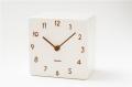 陶器の風合いがうれしい! 置き時計 CHAMBRE TOUKI DBR