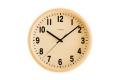 PUBRIC掛け時計  CHAMBRE  CH-027BC  ナチュラル