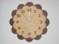 CHAMBRE SOLEIL CLOCK 掛け時計   CH-029WN ウォルナット