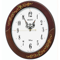 象嵌風 ミッキー&ミニーのクロック!ディズニー掛け時計 FS510B セイコー SEIKO掛け時計 チャイム