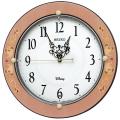 象嵌風 ミッキー&ミニーのクロック!ディズニー掛け時計 FS511P セイコー SEIKO掛け時計