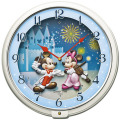 ミッキーとミニーの楽しいクロック!メロディー時計 ディズニータイム FW568W セイコー SEIKO掛け時計