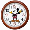 ミッキーマウスの楽しいクロック!ディズニータイム FW582B  セイコー SEIKO掛け時計
