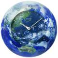 宇宙からみた美しい地球をデザイン 衛星電波クロック SEIKO GP218L  セイコークロック製造125周年記念品