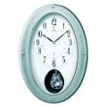 メロディクロック!SEIKO報時振り子時計 セイコーエンブレム HS439H