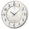 文字盤の斬新な綺麗が魅力です!セイコーエンブレム掛け時計 SEIKO電波時計 HS543W グリーン購入法適合商品