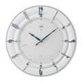 セイコーエンブレム 掛け時計 SEIKO電波時計 HS559W スワロフスキー
