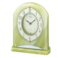 重厚な佇まいで悠然と時を刻む風格のオニキス・クロック! セイコー置時計エンブレム SEIKO電波置き時計 HW514M