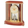 暖かみを感じる木製フレームが素敵です!セイコーメロディ置時計エンブレム  SEIKO電波置き時計 HW528B