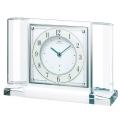 気品あるスタイルです! セイコー置時計エンブレム SEIKO置き時計 HW564W