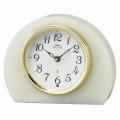 重厚な佇まいで悠然と時を刻む風格のオニキス・クロック! セイコー置時計エンブレム SEIKO電波置き時計 HW594M