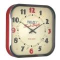 掛け時計トーマスケント Diner Clock Red KC001 THOMAS KENT