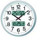 SEIKO掛け時計 セイコー掛け時計 大型時計 オフィス時計 SEIKO電波時計 KX237S デジタル表示 SEIKO掛け時計 グリーン購入法適合商品