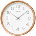 木の温もりを感じるセイコー掛け時計 SEIKO時計 nu・ku・mo・ri KX239H ビーチウッド 天然木