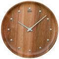 シンプルでスタイリッシュ セイコー掛け時計 SEIKO時計 KX622A アカシア 天然木